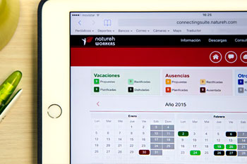 Natureh Business Calendar